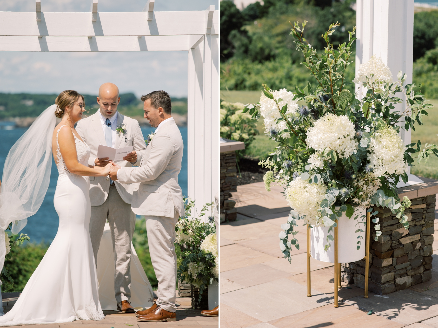 OceanCliff Newport Wedding