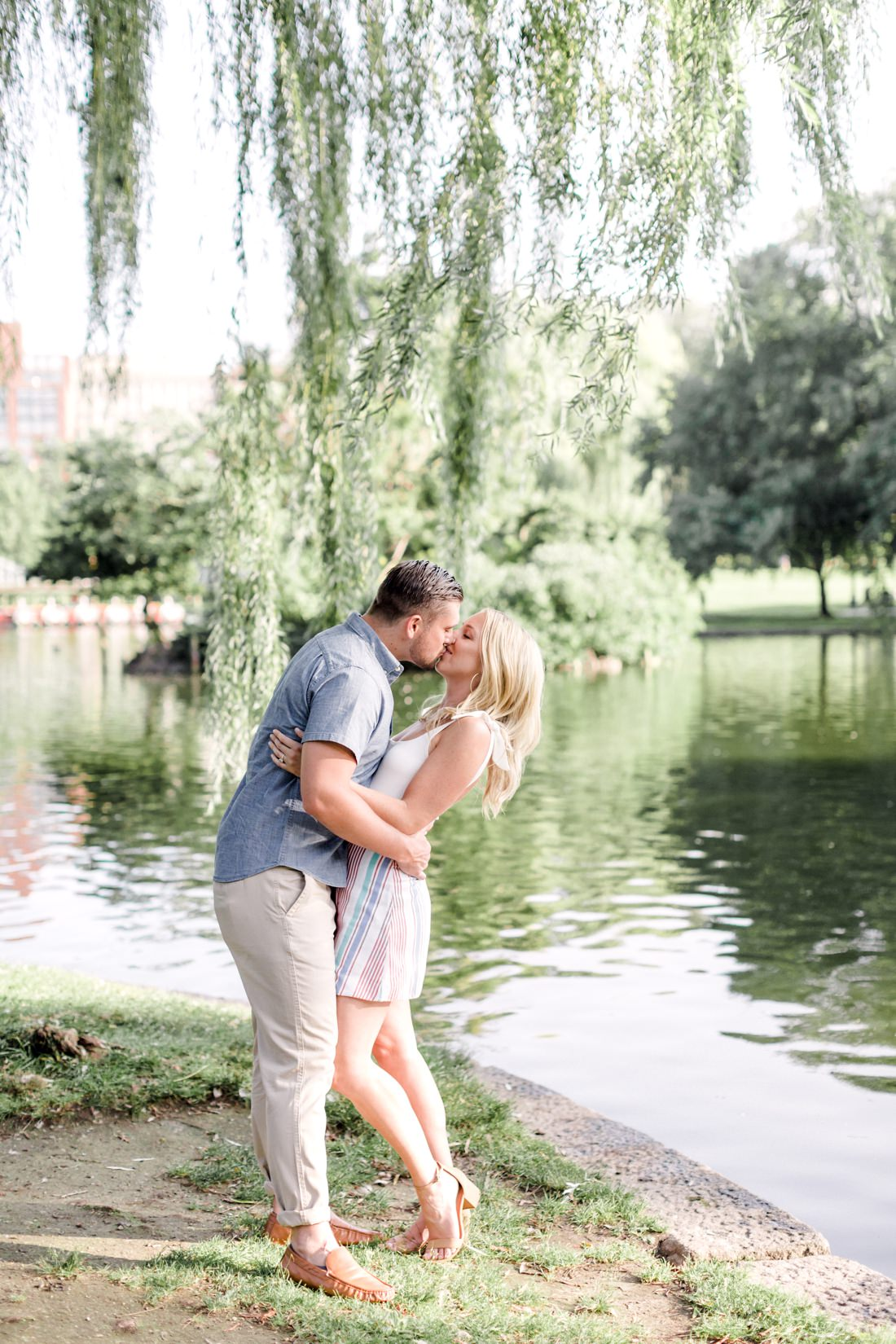 Boston Public Garden Engagement